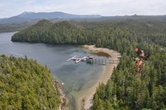 Hakai Beach Institute, Calvert Island, British Columbia